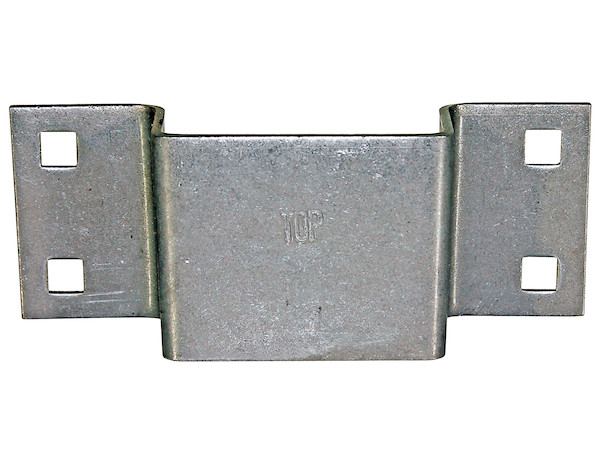 "Zinc Tapered Bolt-On Stake Pocket (1.5 x 3"" Inside Top/1.5 x 2.88"" Bottom)"