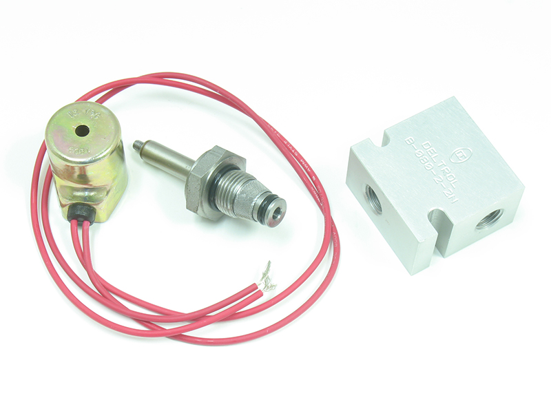 2-Way Valve with Block And Solenoid [Leyman, Maxon, Thieman, Waltco]