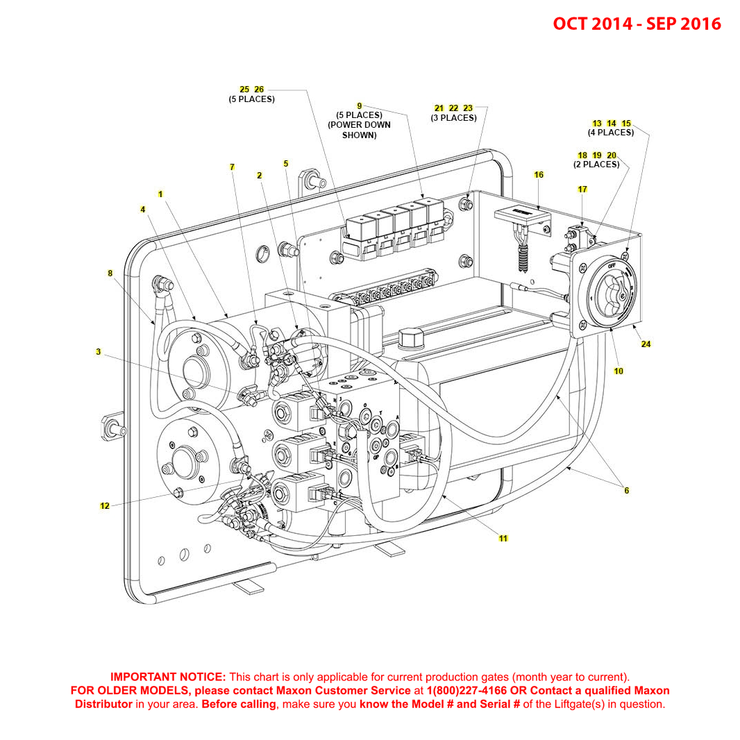 BMR (Oct 2014 - Sep 2016) Dual Pump Assembly Diagram