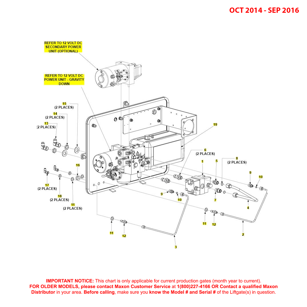 BMR (Oct 2014 - Sep 2016) Gravity Down Pump Assembly Diagram