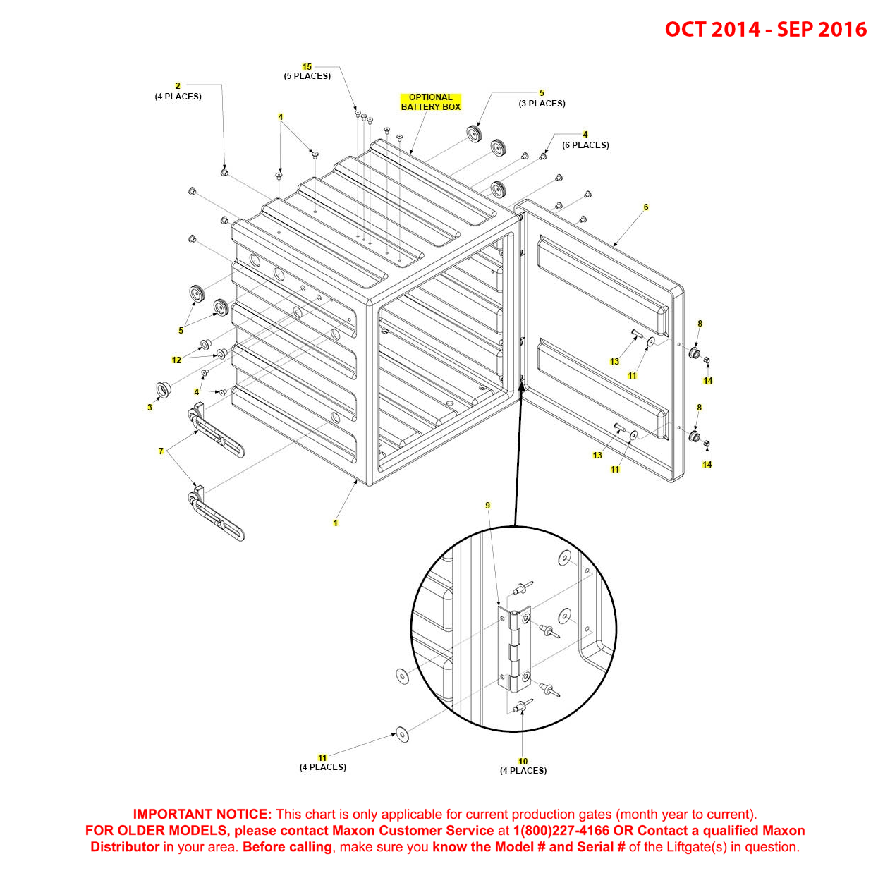 BMR (Oct 2014 - Sep 2016) Optional Battery Box Diagram