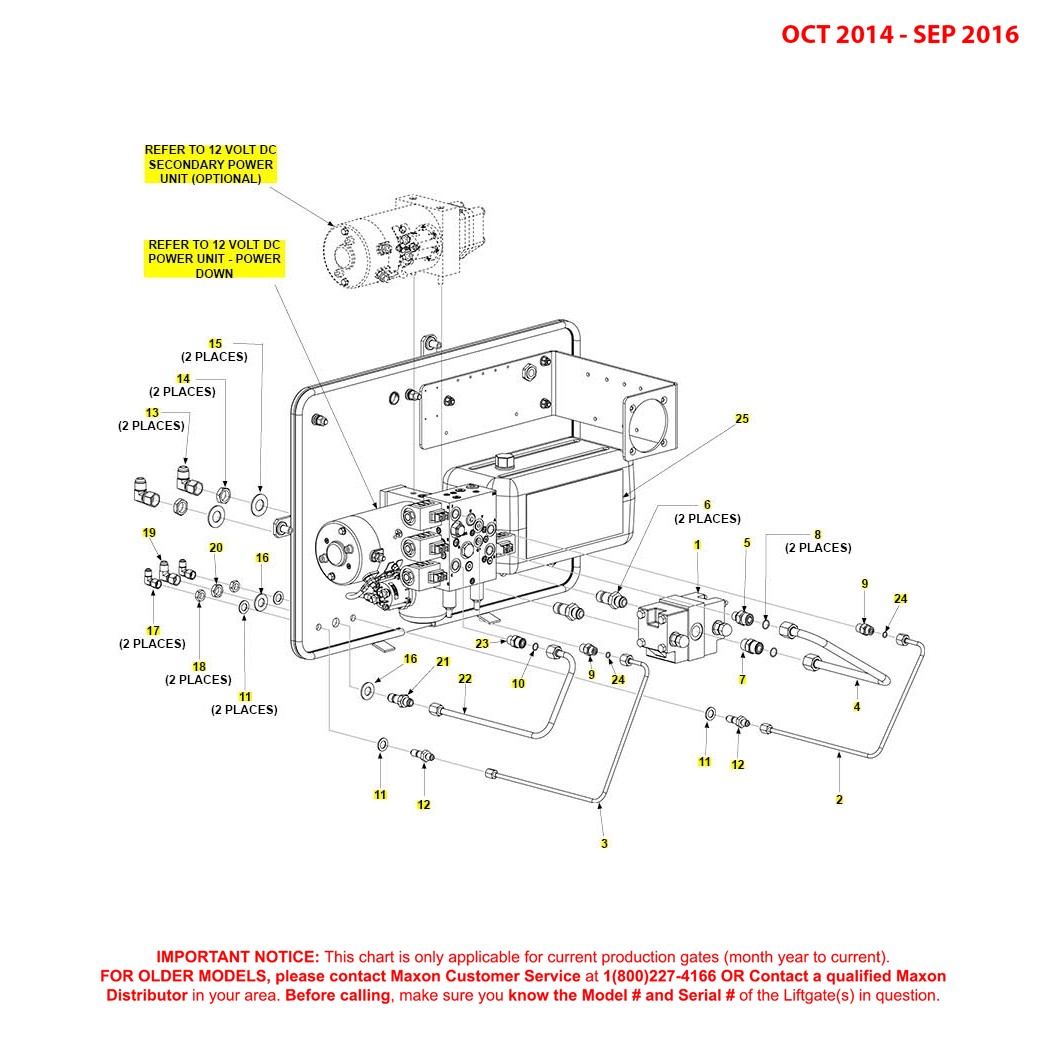 BMR (Oct 2014 - Sep 2016) Power Down Pump Assembly Diagram