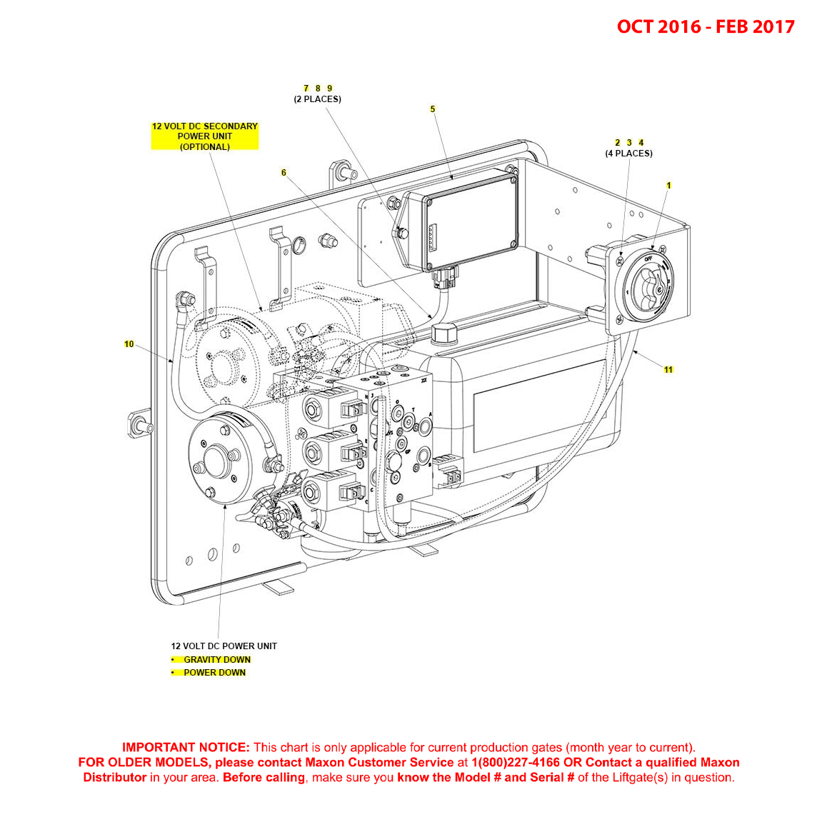 BMR (Oct 2016 - Feb 2017) MTE Hydraulics Pump Assembly Electrical Components Diagram