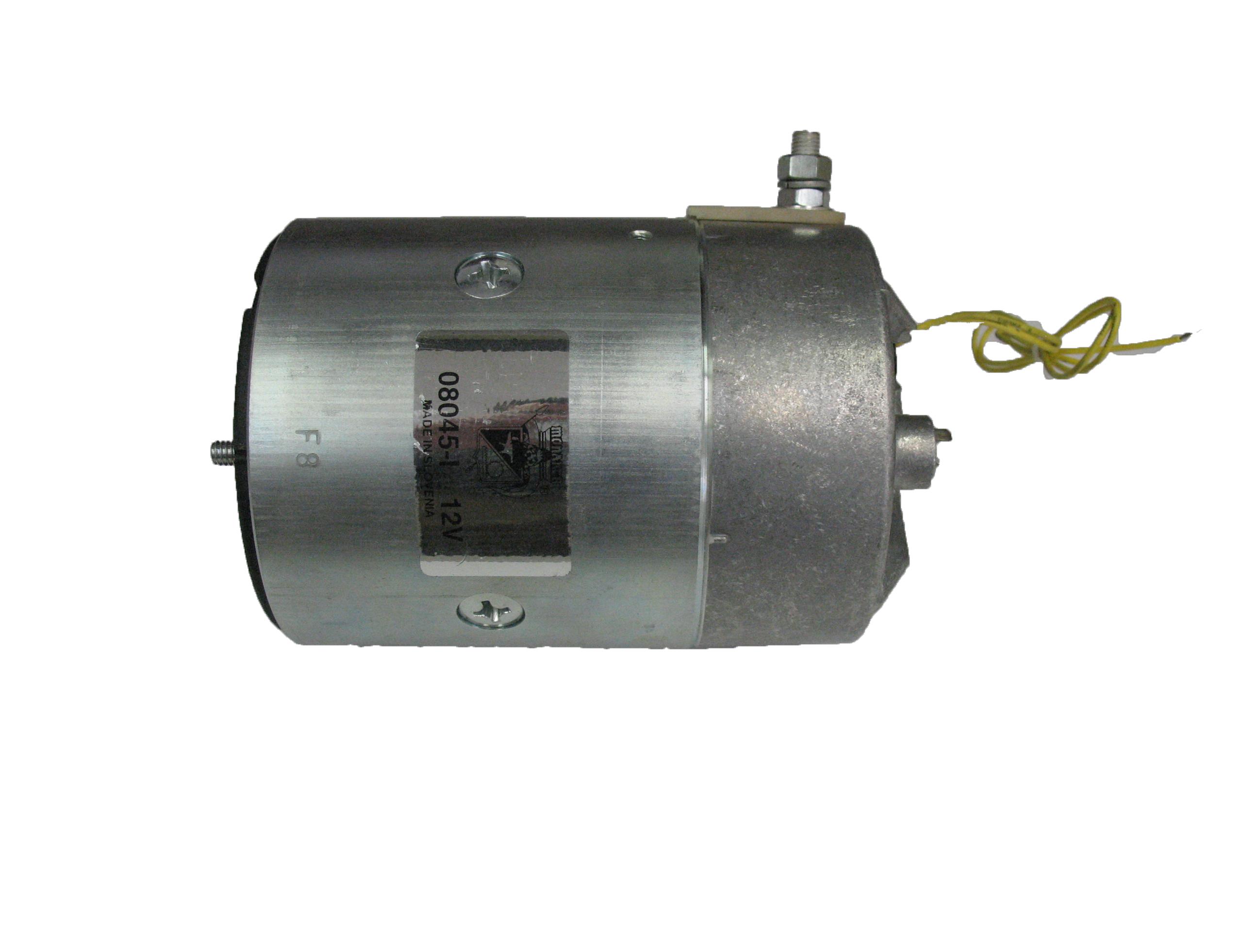 12V Regular Duty Tang Shaft CCW Motor [Waltco, Iskra, Leyman, Monarch]