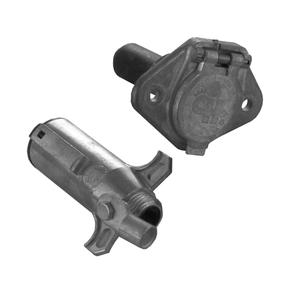 Plug and Socket Combination Trailer Connector