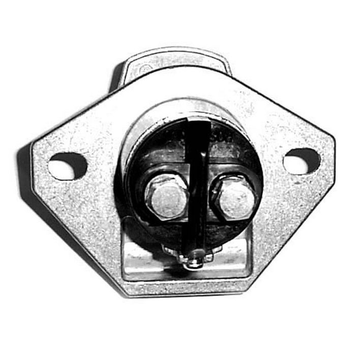 2-Pole Plug and Socket Combination Trailer Connector