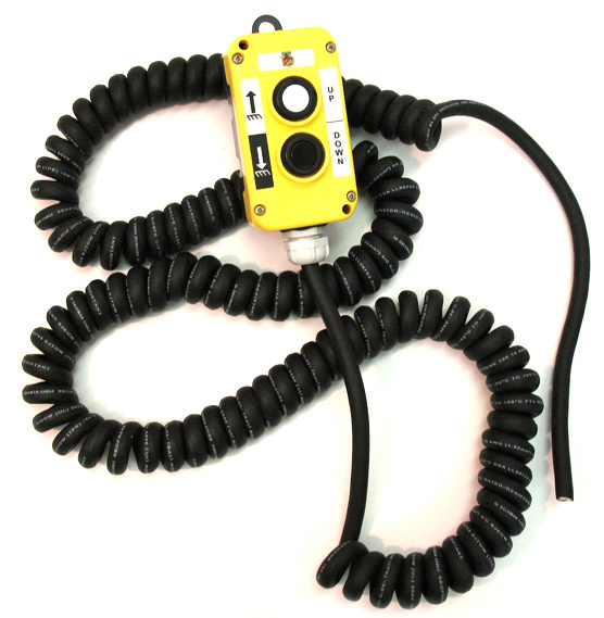 New Style WeatherProof Remote Control 16/4 Retractile Wire Cord
