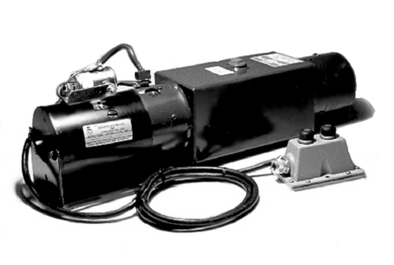 Thieman Power Down Liftgate Power Unit (Horizontal 1 Gal Reservoir) [4400371/4400911]