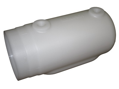 Monarch/Bucher Replacement 2 Qt Poly Reservoir (2 Holes)