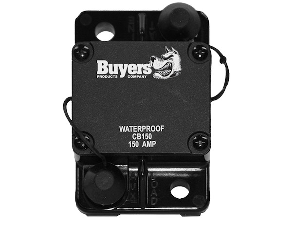 Buyers CB150 - High-Amp Circuit Breaker with Auto Reset
