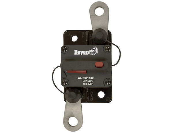 Buyers CB150PB - High-Amp Circuit Breakers with Manual Reset