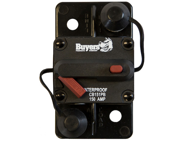 Buyers CB251PB - 250 Amp Circuit Breaker With Manual Push-To-Trip Reset