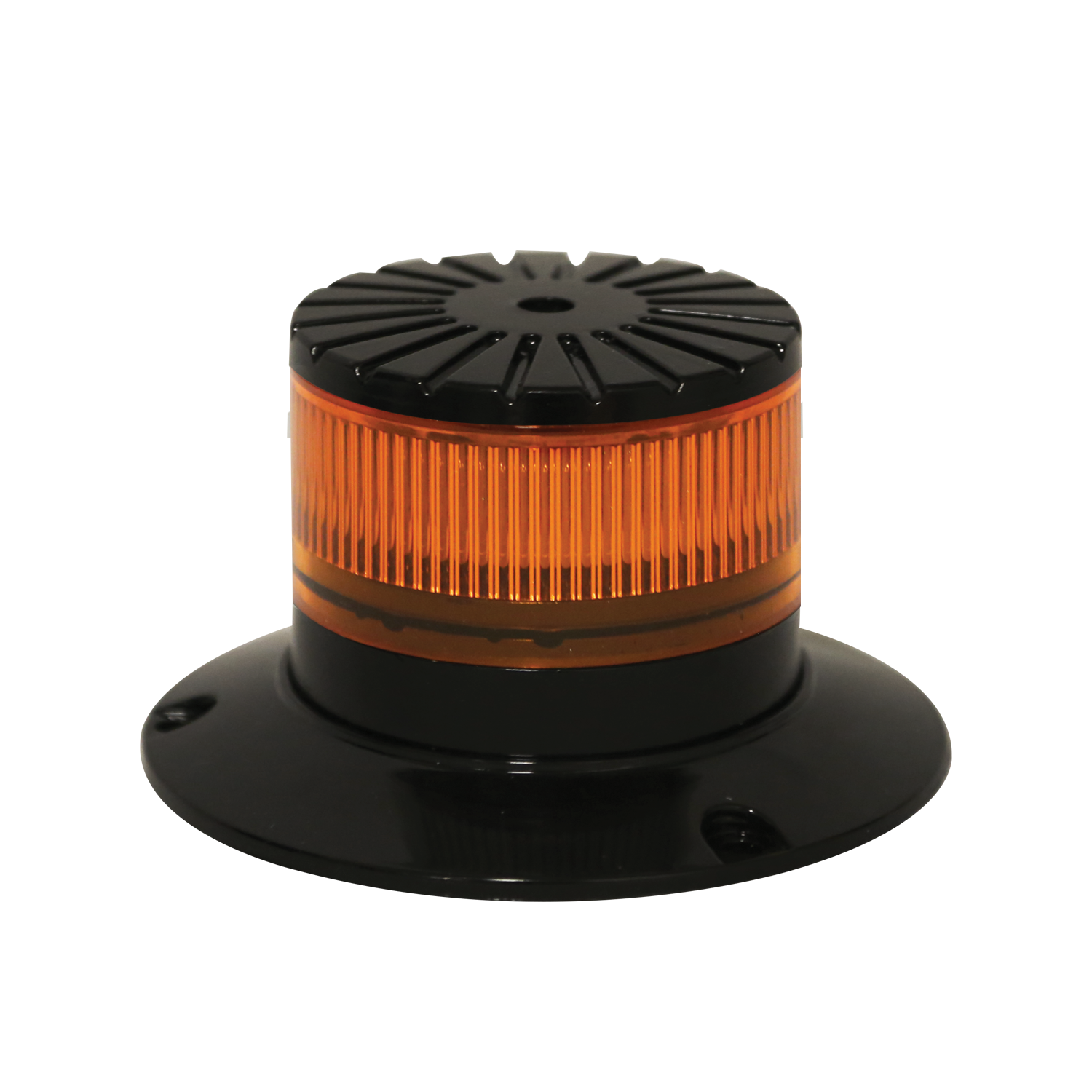 ECCO Lighting - LED Beacon: Aluminium base | mini profile | 12-24VDC | 41 flash patterns | CLASS 2 | AMB
