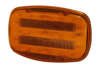 ECCO Lighting - Directional LED: Magnetic mount | 4 AA batteries | 18 LEDs | amber