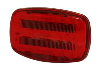 ECCO Lighting - Directional LED: Magnetic mount | 4 AA batteries | 18 LEDs | red