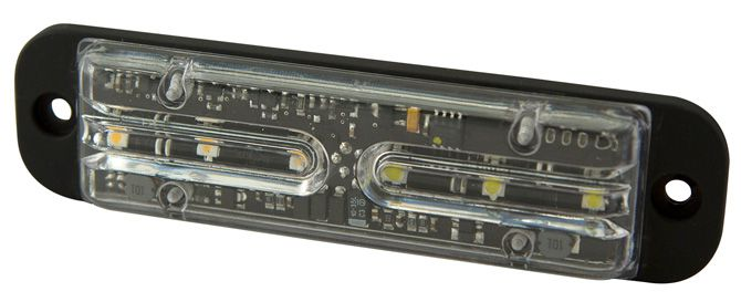 ECCO Lighting - Directional LED: Surface mount | 13 flash patterns | 12-24VDC | amber