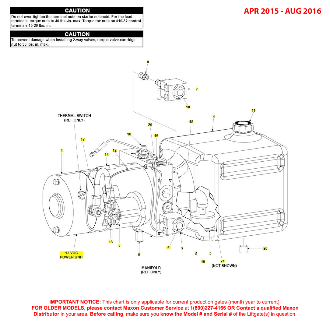 GPT (Apr 2015 - Aug 2016) 12VDC Power Unit Diagram