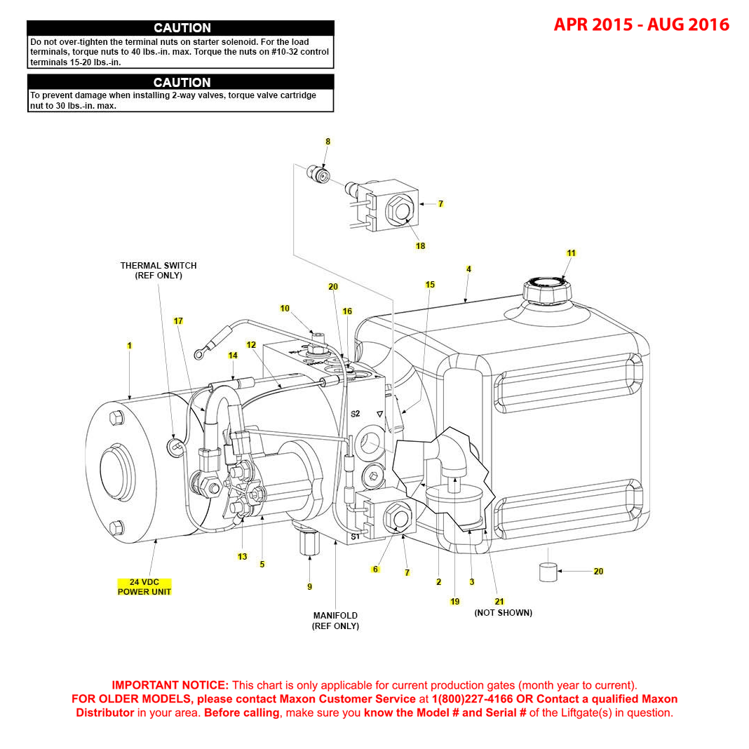 GPT (Apr 2015 - Aug 2016) 24VDC Power Unit Diagram