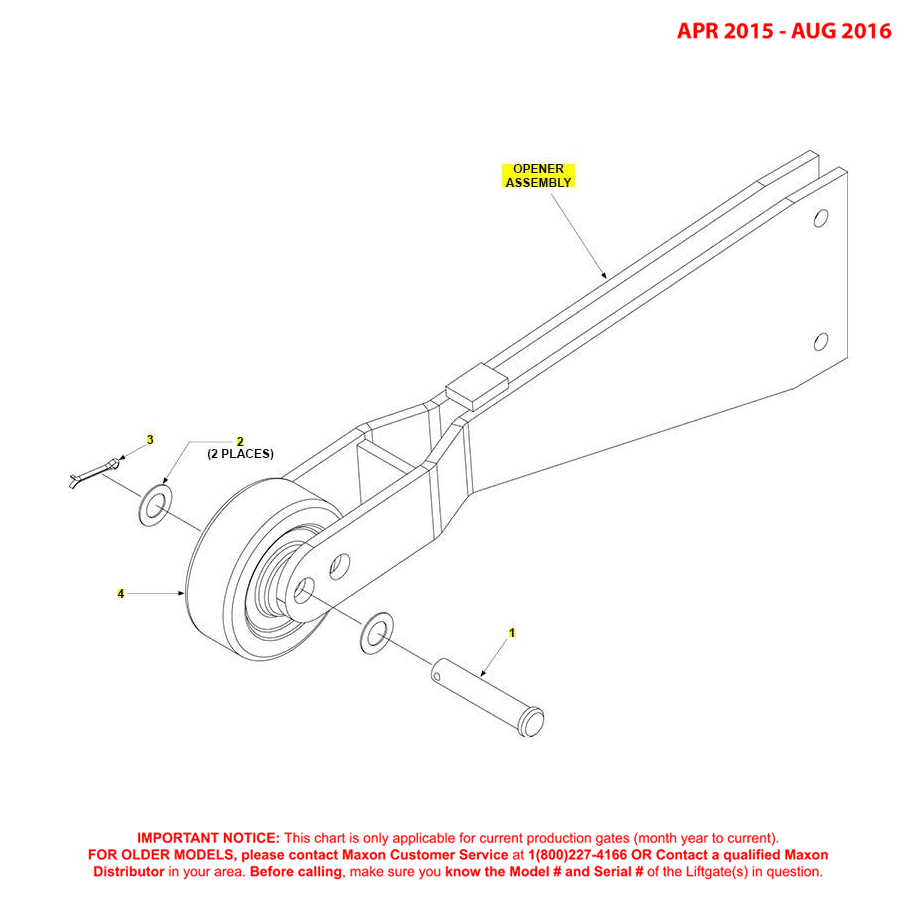 GPT (Apr 2015  Aug 2016) Opener Assembly Diagram