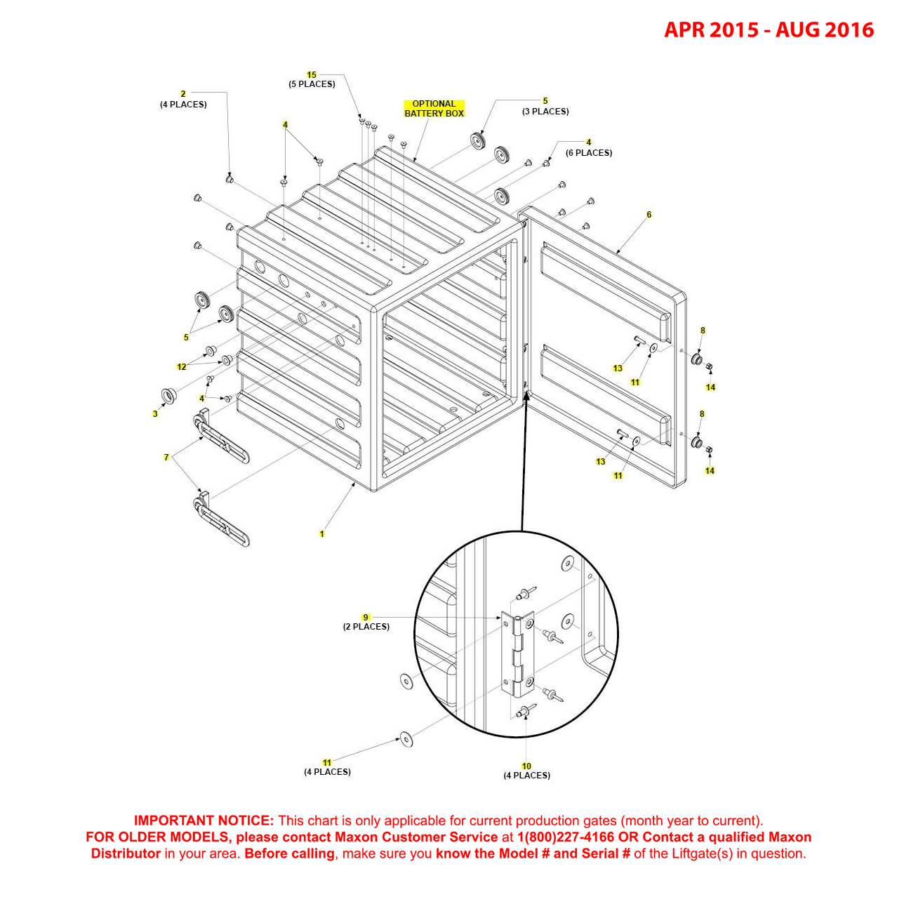 GPT (Apr 2015 - Aug 2016) Optional Battery Box Diagram