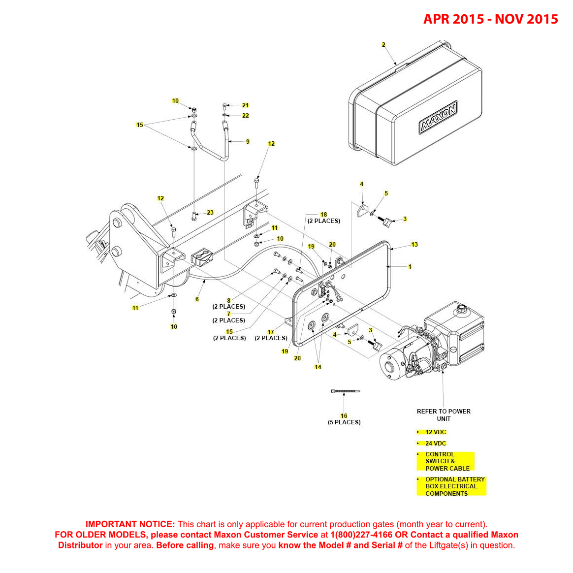GPT (Apr 2015 - Nov 2015) Pump Cover And Mounting Plate Assembly Diagram
