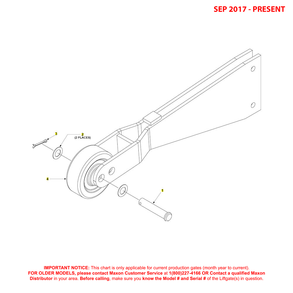 GPT (Sep 2017 - Present) Opener Assembly Diagram