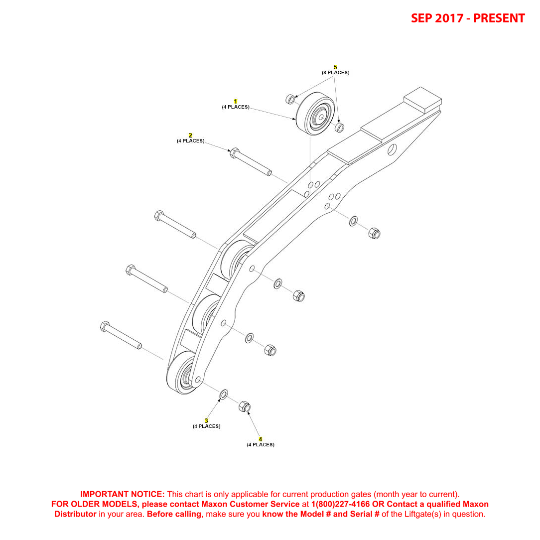 GPTLR-25/33 (Sep 2017 - Present) Opener Assembly Diagram