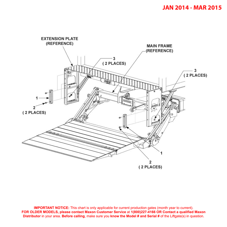 GPTWR (Jan 2014 - Mar 2015) 7 Inch Rubber Bumpers Diagram