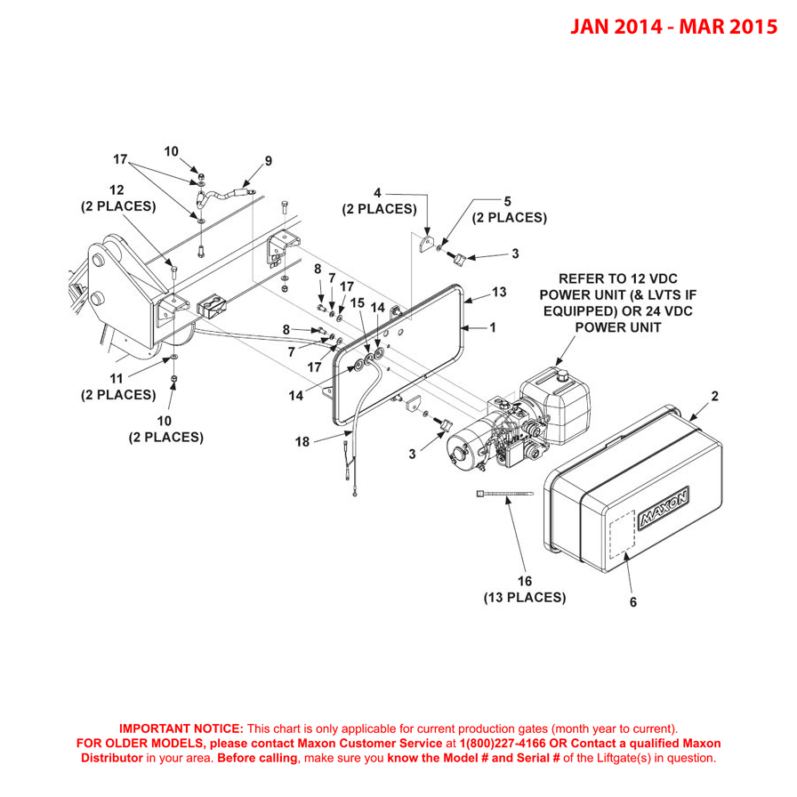 GPTWR (Jan 2014 - Mar 2015) Pump Assembly Diagram