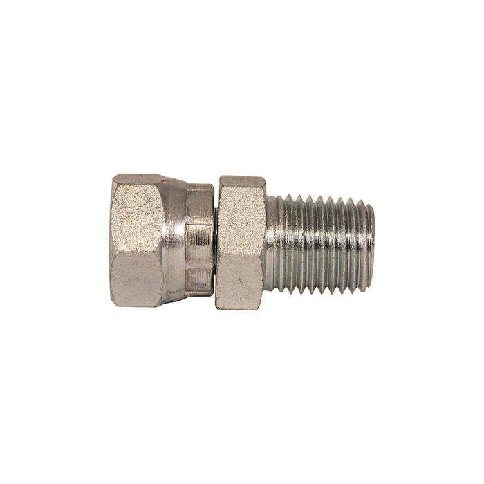 "1"" NPSM Female Pipe Swivel To 1"" Male Pipe Thread Straight"