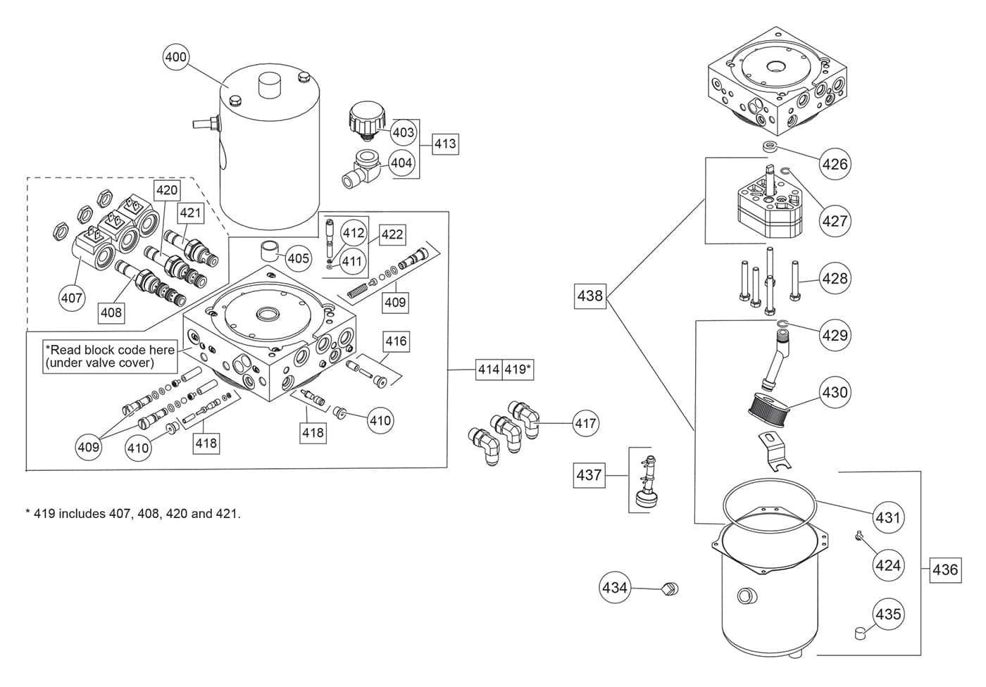 HD Series Hydraulic Unit Diagram