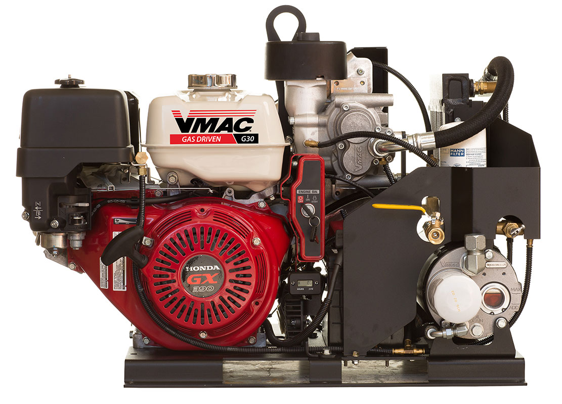 VMAC G300003 - Gas Driven 30 CFM Air Compressor [G30]