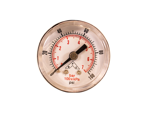 "1-1/2"" Dial Return Line Pressure Gauge"
