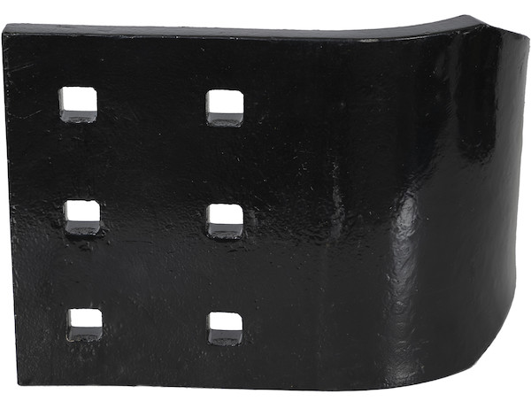 Buyers 1301821 - SAM Curb Guard For Municipal Snow Plows - 3/4 x 8 x 10 Inch