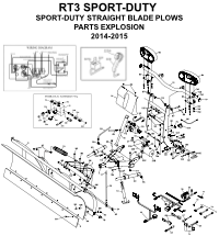 Diagram 1 - Boss RT3 Sport-Duty Parts