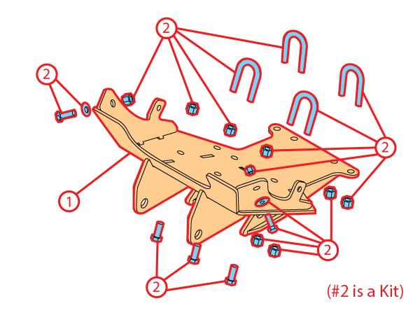 Parts and Diagrams - Undercarriage ATVs Snowplow parts Diagrams ...