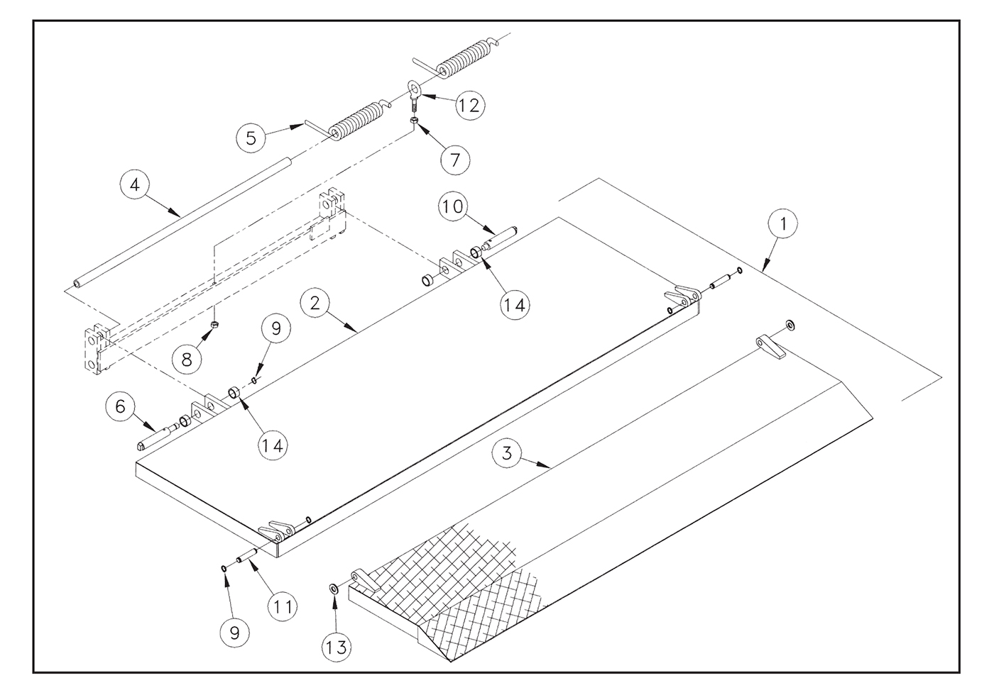 M 16/20 Platform Assembly Diagram