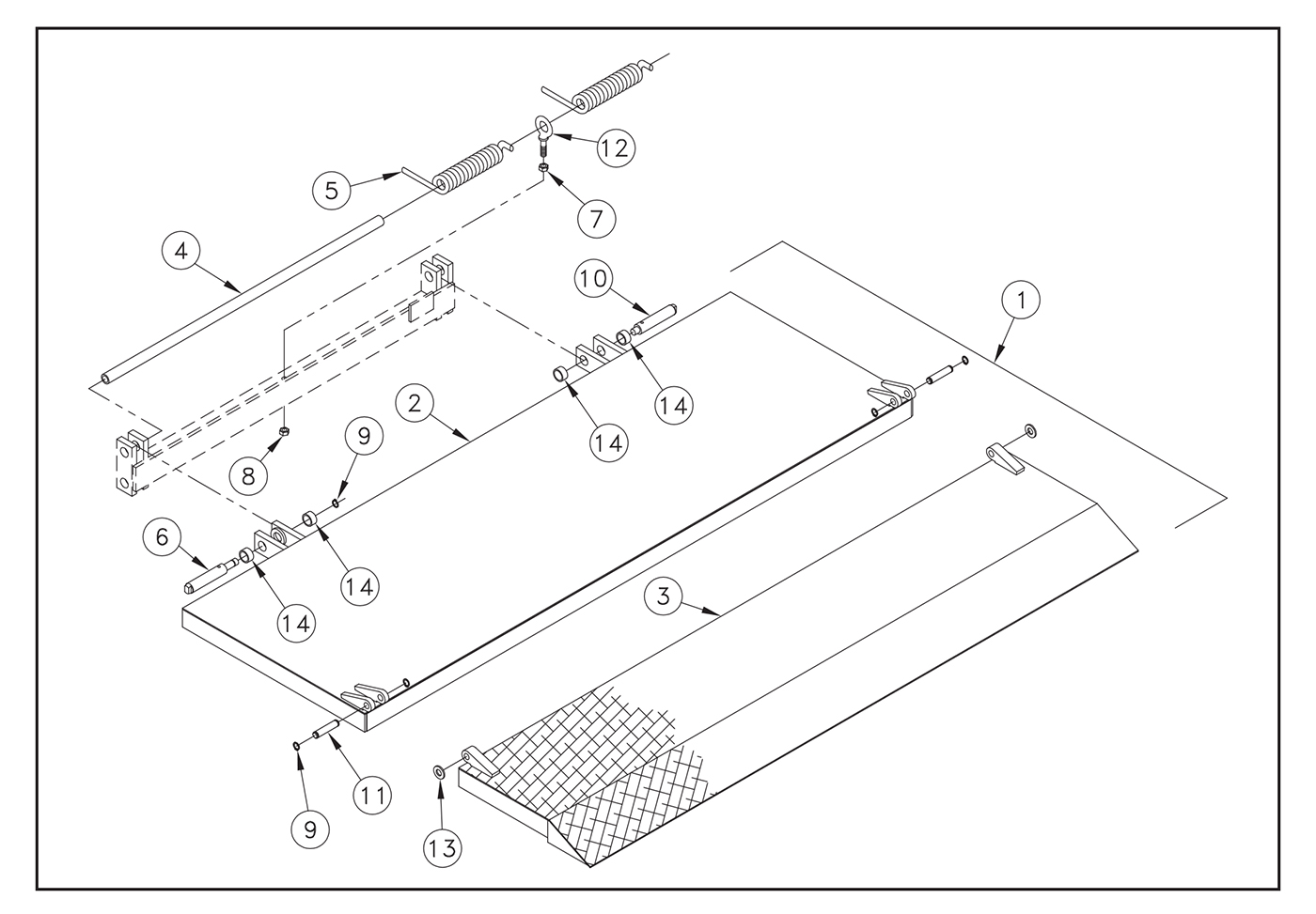 M 25/30 Platform Assembly Diagram