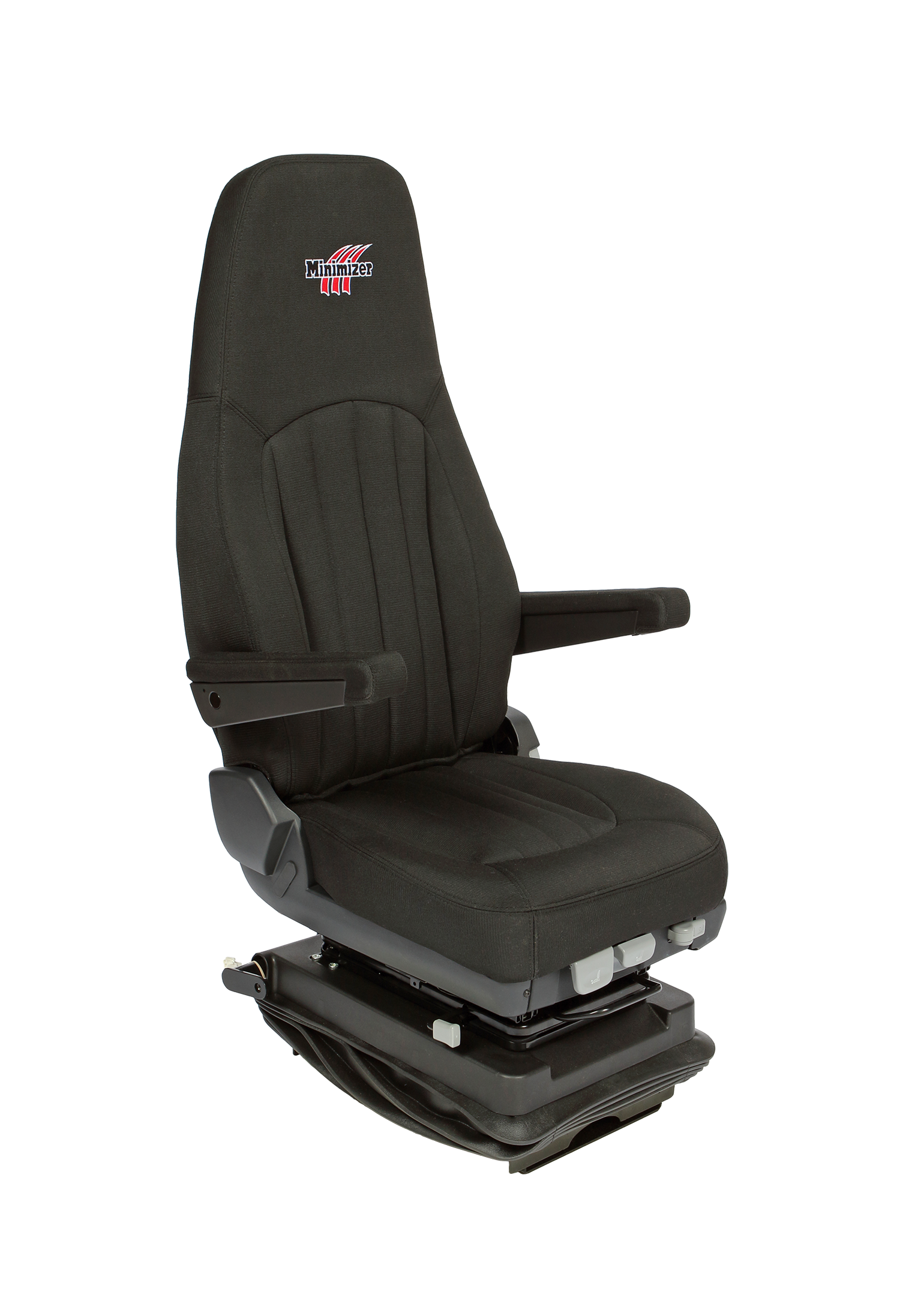 Minimizer Heavy Duty Semi Truck Seats - Premium Cloth with Heat and Cool