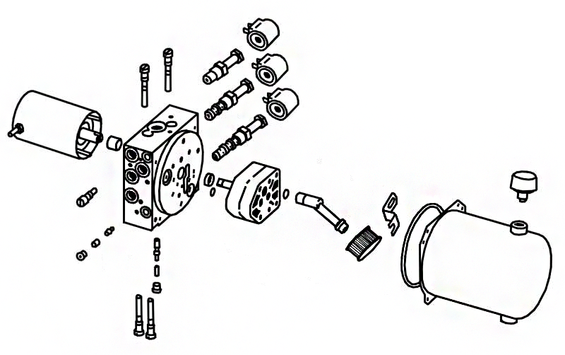 Fisher HD2 - Hydraulics Diagram