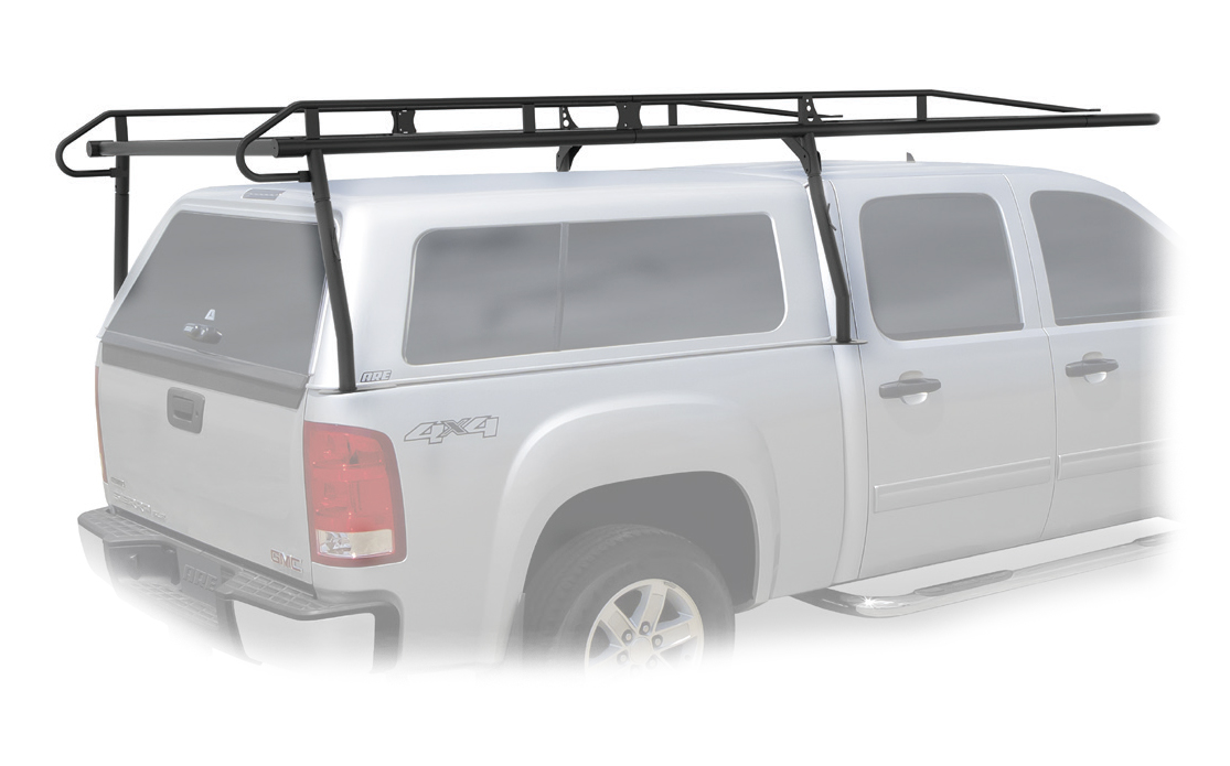 Pro II Black Heavy Duty Cargo Rack (For Trucks with Caps) [GMC Canyon, Chevrolet Colorado]