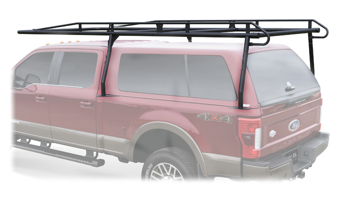 Kargo Master 01130+06010 - Pro II Heavy Duty Steel Cargo Rack (Black)