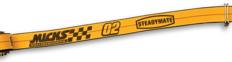 "2"" Tire Strap Specialty (w/ Ratchet & E/A Fitting - Left & Right Hand Straps) (1.5k WLL)"