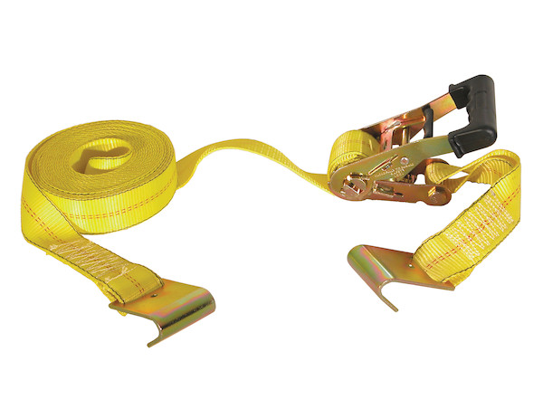 Buyers RTD12271F - 27 Foot Ratchet Strap with Soft Rubber Grip