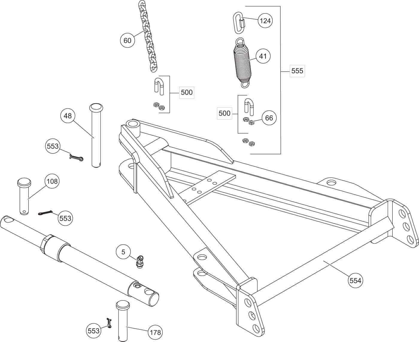 Fisher Sds-afc - Sd Series A-frame Components