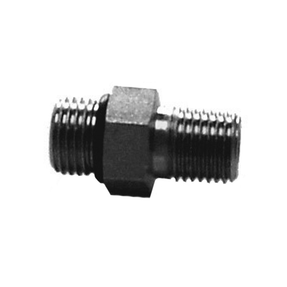 "Fisher 1/4"" NPT to 9/16"" Adapter With O-Ring [3058]"