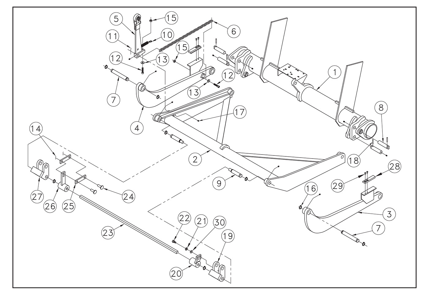iteparts intercon truck equipment online store Boss Plow Diagram st22 trunnion lift arms and idler arms diagram