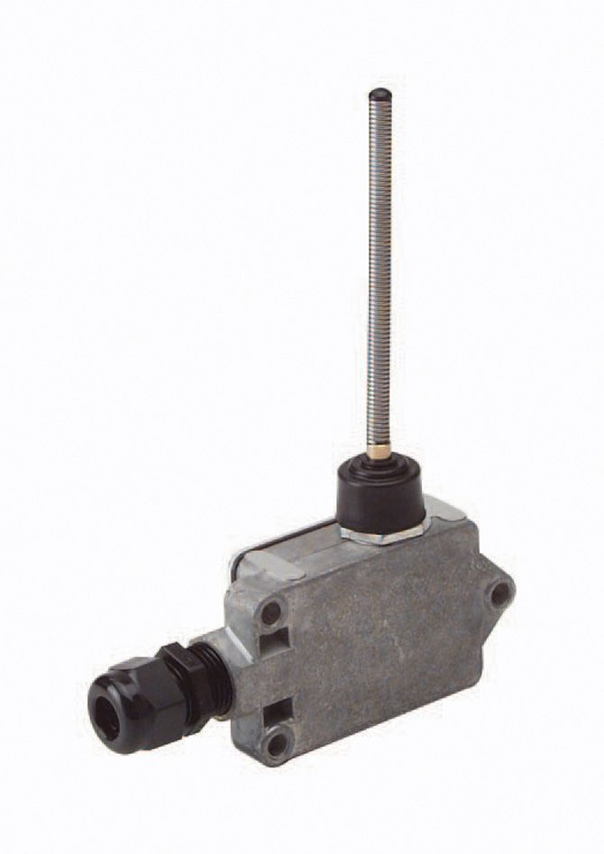 ECCO Lighting - Electro-Mechanical Actuation Switch: Metal housing | (field selectable open or closed) | universal