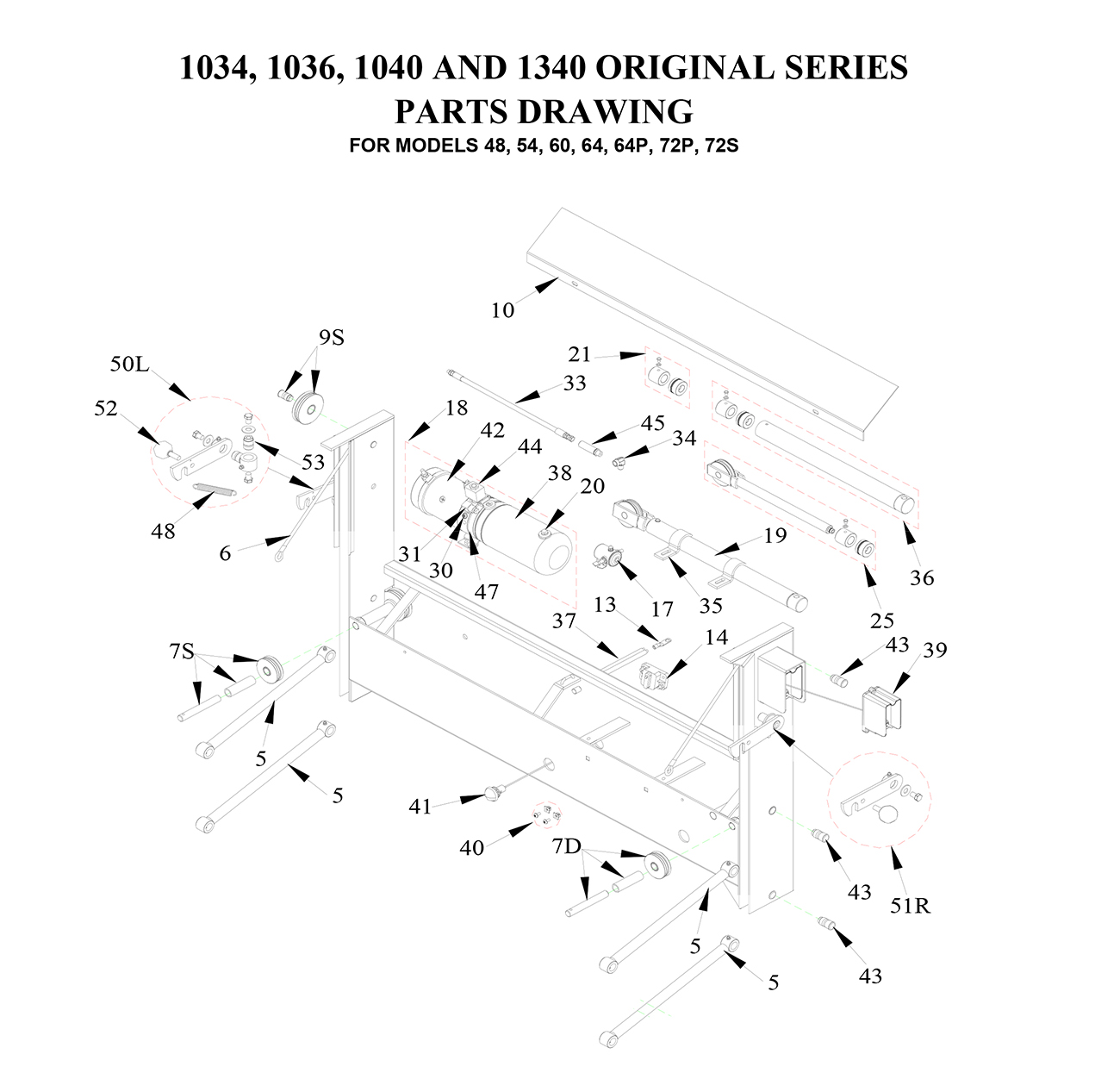 Liftgate Diagrams Tommy Gate Parts Shop Ite Homesteader Trailer Wiring Diagram Original Series 1 Of 2 Pickup Service Body