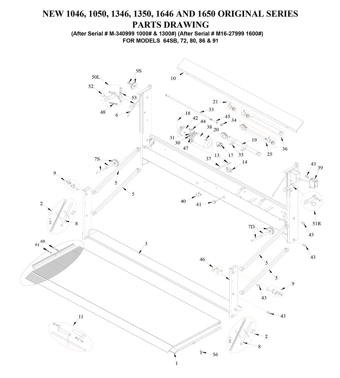 Tommy Gate Original Series Diagram [Flatbed, Stake & Van]
